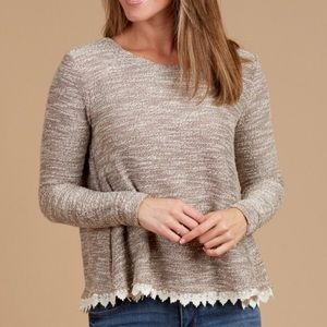 Altar'd State | Double Deluxe Bow Back Sweater